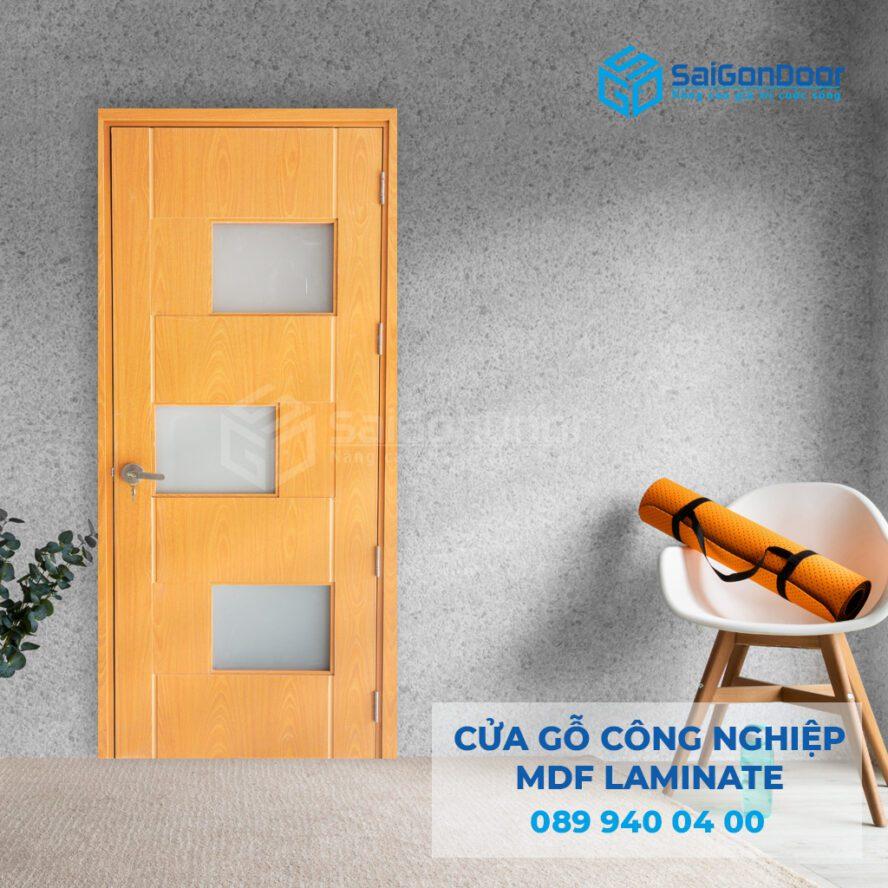 Cửa gỗ công nghiệp MDF LAMINATE 089 940 04 00