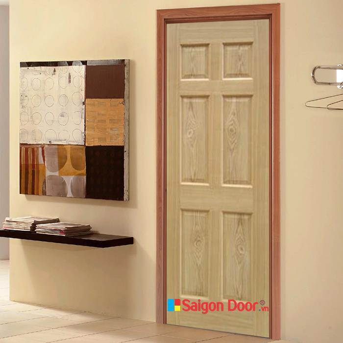 Cửa Gỗ Tự Nhiên 06A chất lượng hàng đầu 0933.707707