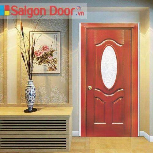 Cửa Gỗ HDF veneer 3G0 – Xoan Đào chất lượng LH 0826.901.901