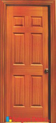 Cửa Gỗ HDF veneer 6A – Sapele