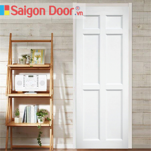 Cửa nhựa gỗ ghép thanh cao cấp NG-W40 giá tốt LH 0826.901901