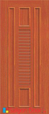 Cửa nhựa gỗ ghép thanh cao cấp NG-O21