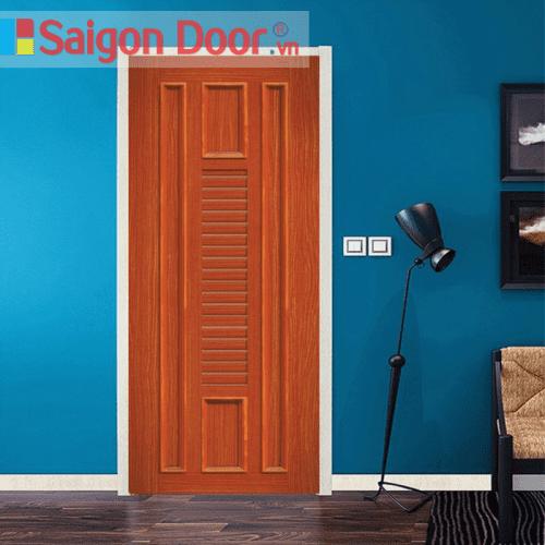 Cửa nhựa gỗ ghép thanh cao cấp NG-O21 giá tốt LH 0826.901901