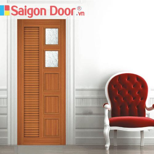 Cửa nhựa gỗ ghép thanh cao cấp NG-Y26 giá tốt LH 0826.901901