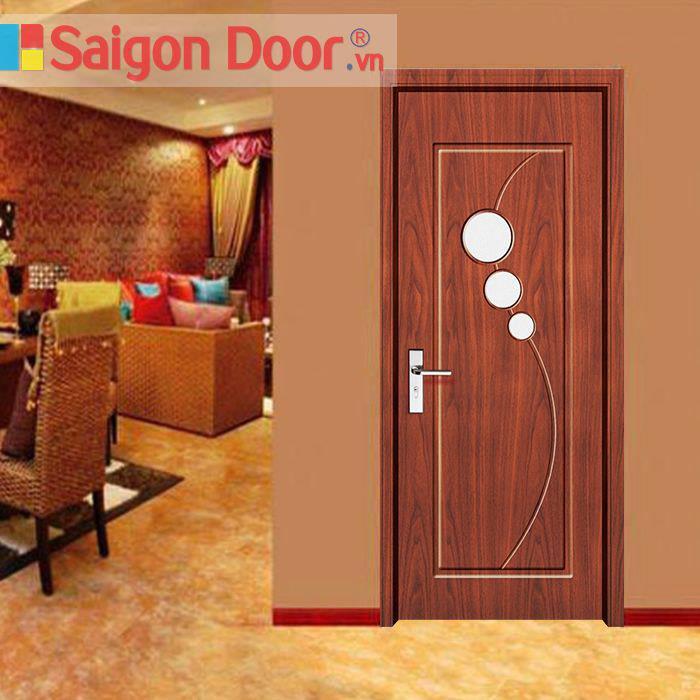 CỬA GỖ CAO CẤP SAIGONDOOR PVC giá thành tốt HL 0834.715.715