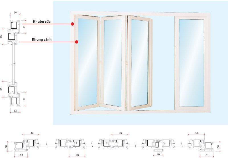 Lựa chọn cửa đi xếp trượt cho căn nhà của bạnLựa chọn cửa đi xếp trượt cho căn nhà của bạn