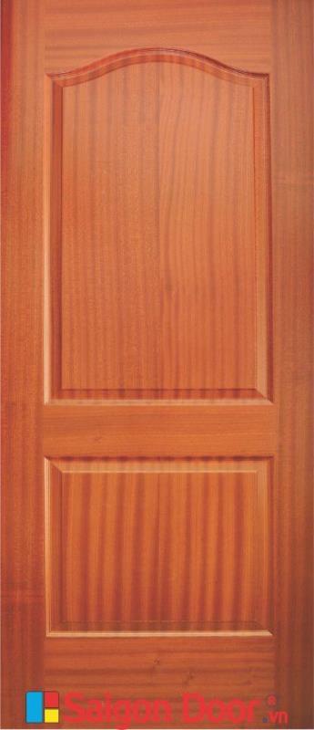 Cửa gỗ HDF Veneer SGD 2A-Sapele
