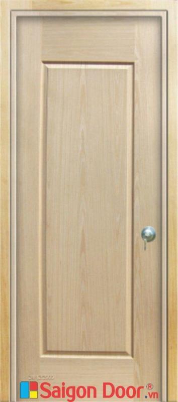 Cửa gỗ HDF Veneer SGD 1B-Oak