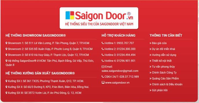 Cảnh báo về việc lợi dụng danh nghĩa SaigonDoor để lừa đảo