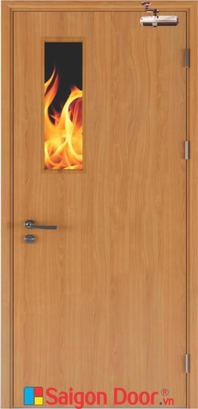 1 Cửa gỗ chống cháy giải pháp thông minh trong trường hợp cháy nổ