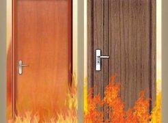 Cửa gỗ chống cháy giải pháp thông minh trong trường hợp cháy nổ
