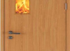 Những lợi ích của cửa gỗ chống cháy bạn nên biết