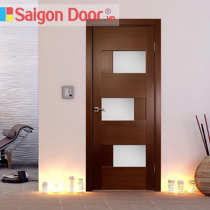 Cửa gỗ cao cấp Saigondoor M1030 giá thành tốt Lh 0933.707707