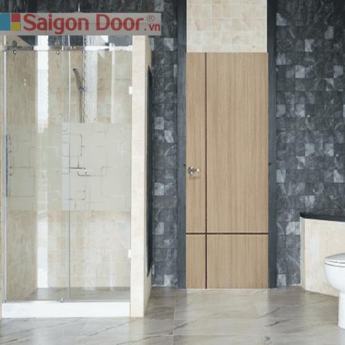 Cửa gỗ nhà tắm SGD 02 chất lượng luôn đi đầu 0933.707707
