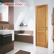 Cửa gỗ nhà tắm SGD 04