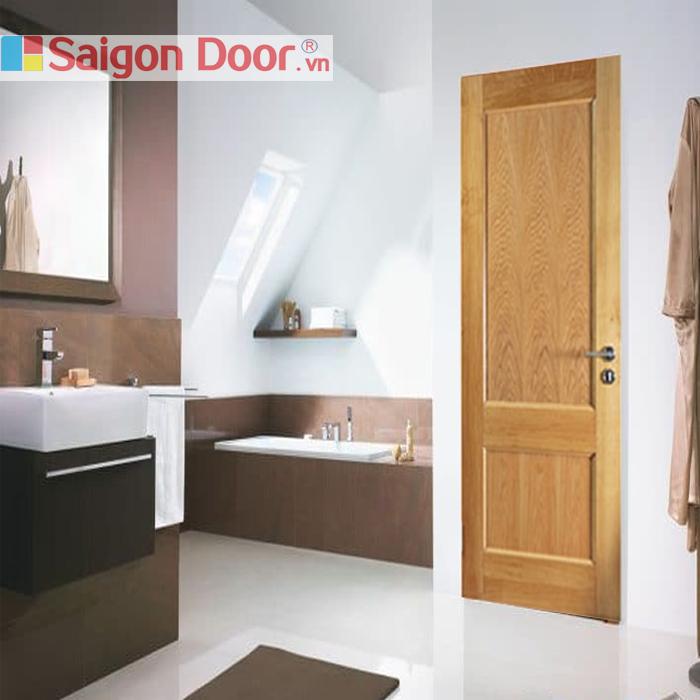 Cửa gỗ nhà tắm SGD 04 chất lượng luôn đi đầu 0933.707707