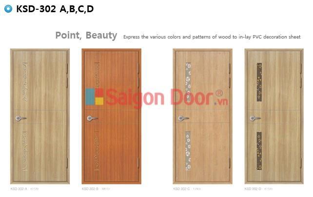 Mẫu cửa nhựa ABS Hàn Quốc Sài Gòn Door