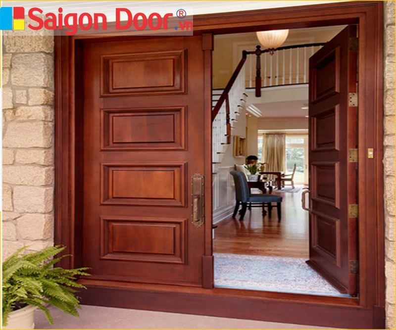 cửa gỗ đẹp nhất cho phòng khách