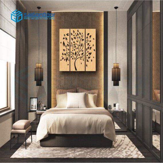 Lựa chọn mẫu cửa gỗ đẹp cho phòng khách sạn