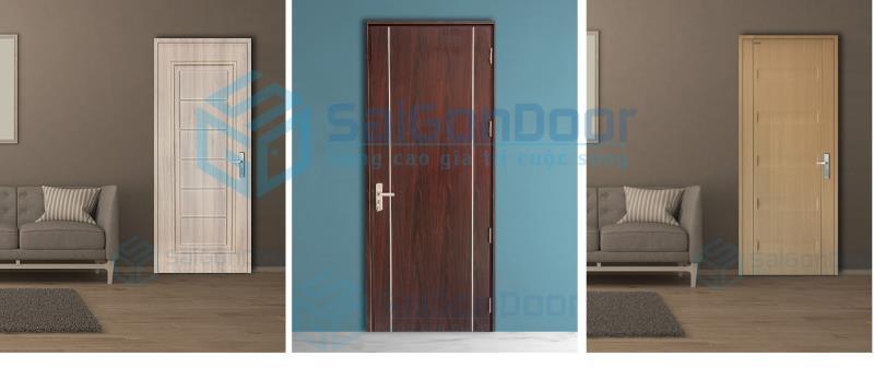 Tổng hợp cửa gỗ công nghiệp HDF