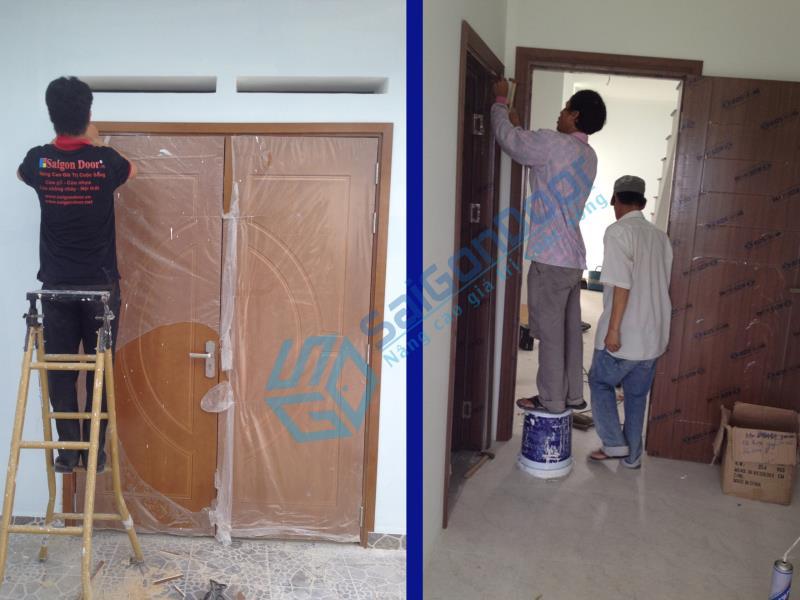 Cửa phòng ngủ tại TPHCM