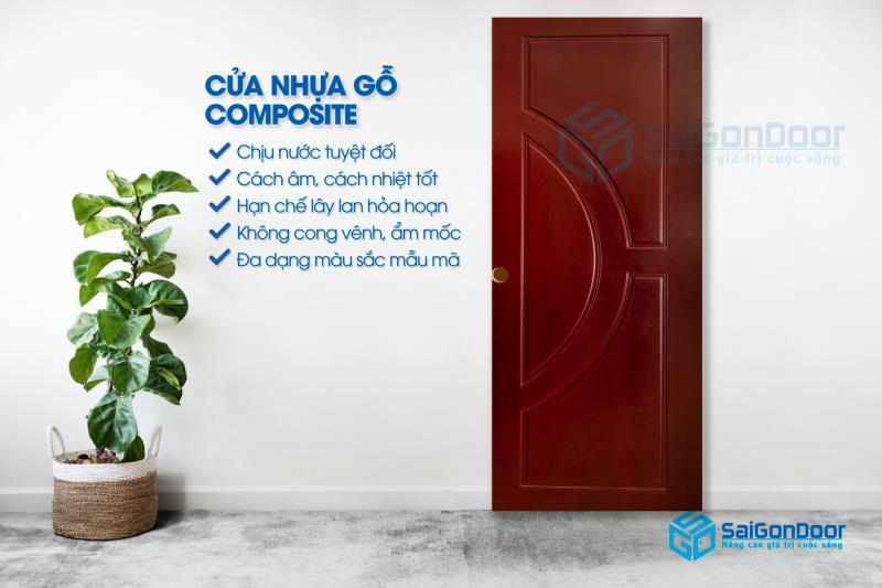 ưu điểm cửa nhựa Composite