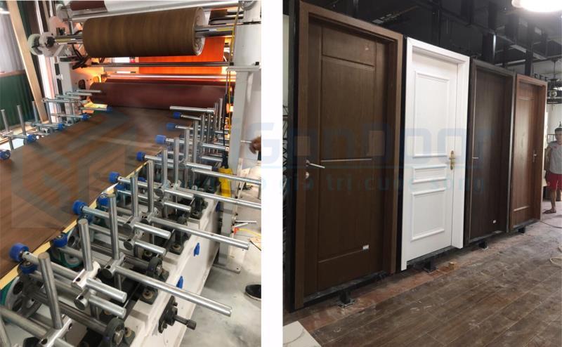 xưởng cửa nhựa Composite