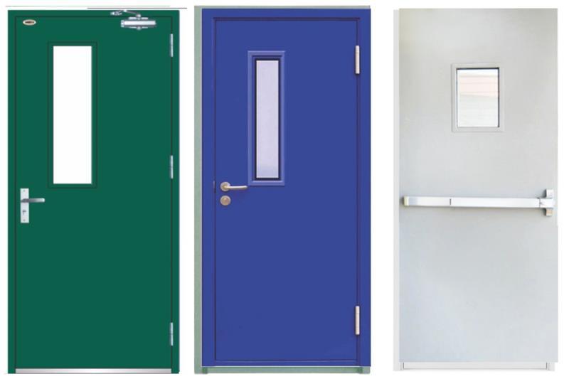 mẫu cửa thép chống cháy thông dụng