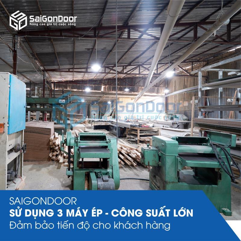 Xưởng sản xuất cửa nhựa Đài Loan
