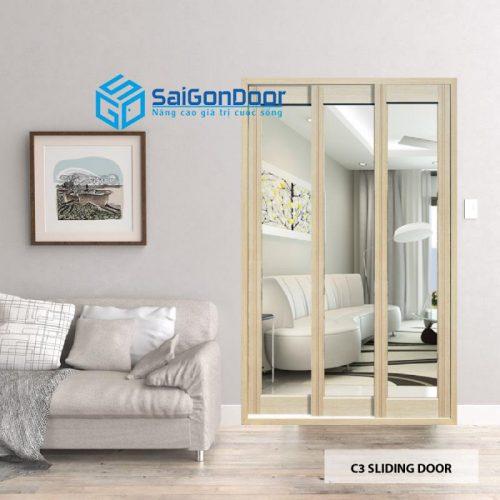 C3 Sliding door