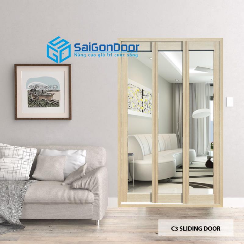Cửa nhựa ABS Hàn Quốc KOS C3 Sliding Door
