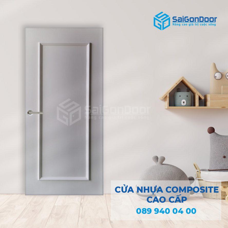 Cua nhua composite 1PN