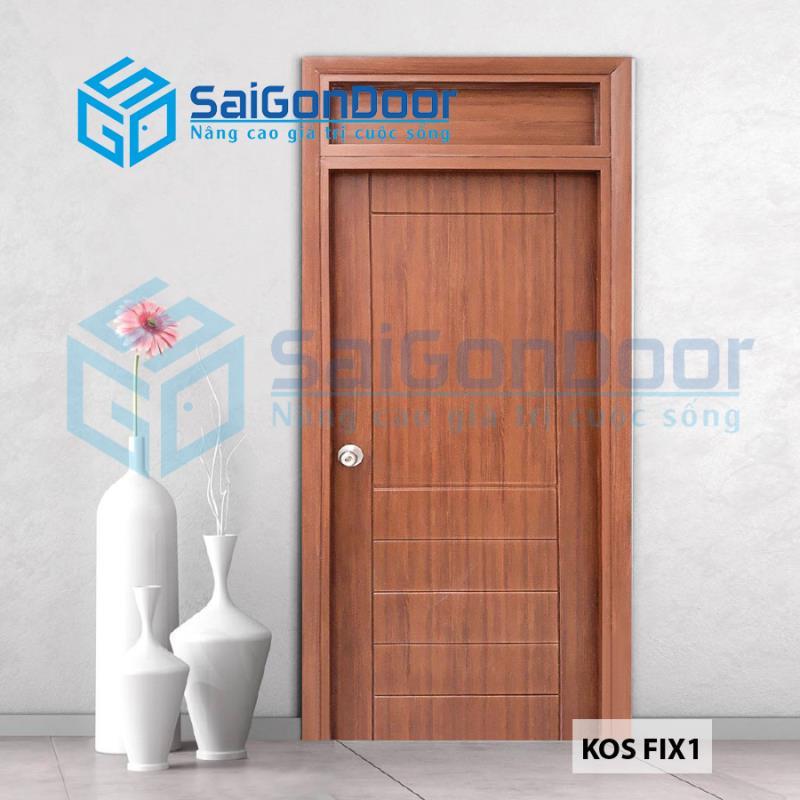 Cửa nhựa ABS Hàn Quốc KOS FIX 1