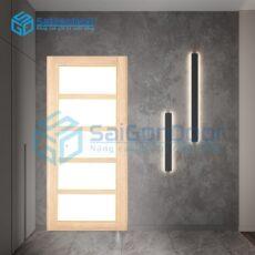 Cửa nhựa ABS Hàn Quốc PVC.SD2-M8707
