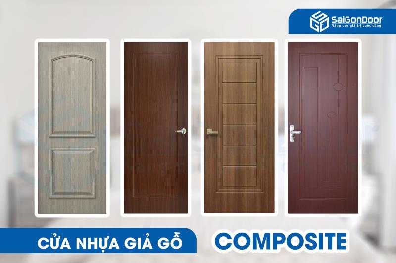 Cửa nhựa giả gỗ Composite