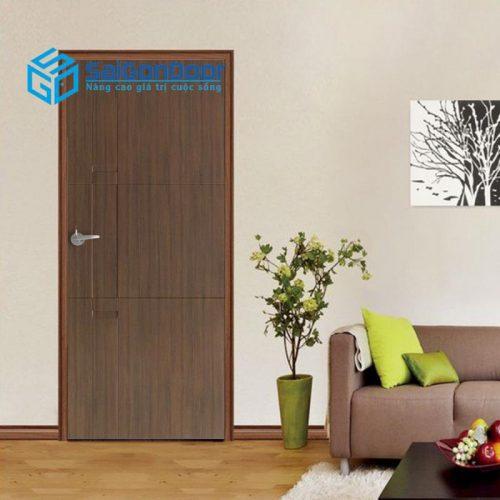 Cửa nhựa gỗ composite được lắp đặt ở nhiều vị trí khác nhau