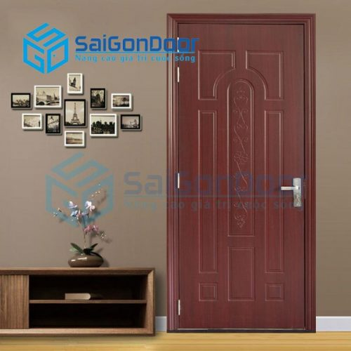 Cửa nhựa gỗ SYA.445-A04, Cửa gỗ chịu nước, cửa gỗ chống nước, cửa nhựa gỗ, cửa nhựa giả gỗ, cửa nhựa vân gỗ, cửa nhựa phòng ngủ, cửa nhựa nhà vệ sinh, cửa nhựa gỗ cao cấp