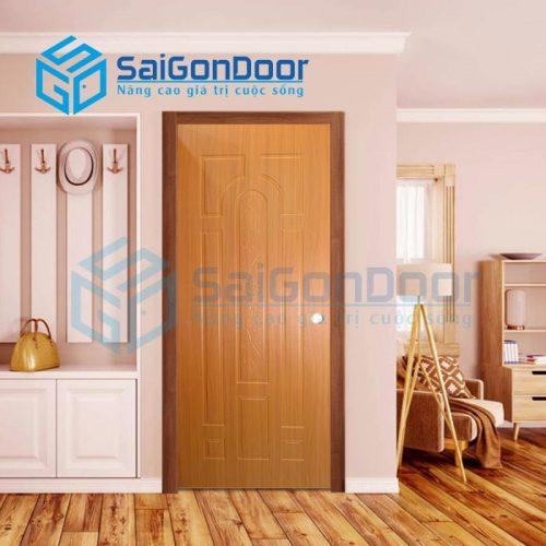 Cửa nhựa gỗ SYB.445-B06, Cửa gỗ chịu nước, cửa gỗ chống nước, cửa nhựa gỗ, cửa nhựa giả gỗ, cửa nhựa vân gỗ, cửa nhựa phòng ngủ, cửa nhựa nhà vệ sinh, cửa nhựa gỗ cao cấp