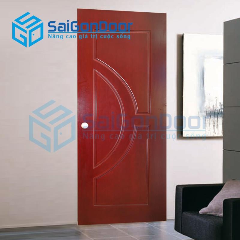 Cửa nhựa gỗ SYB.752-Sapele