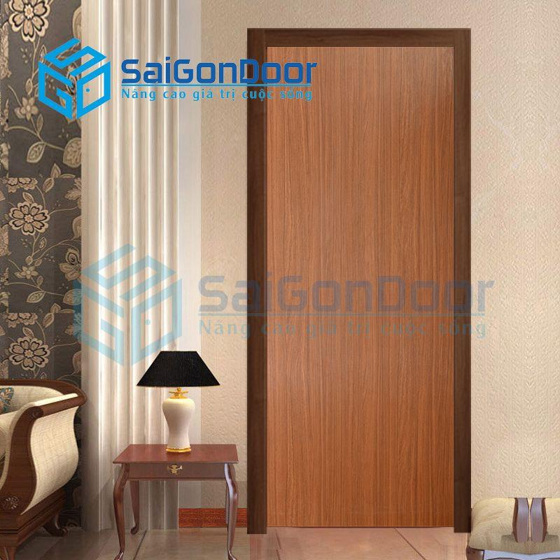 Cửa nhựa gỗ SYB.P1-B07, Cửa gỗ chịu nước, cửa gỗ chống nước, cửa nhựa gỗ, cửa nhựa giả gỗ, cửa nhựa vân gỗ, cửa nhựa phòng ngủ, cửa nhựa nhà vệ sinh, cửa nhựa gỗ cao cấp