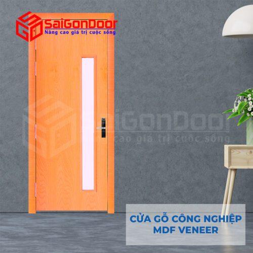 Cửa Gỗ MDF Veneer P1GL