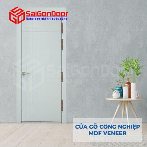 Cửa Gỗ MDF Veneer P1R4a