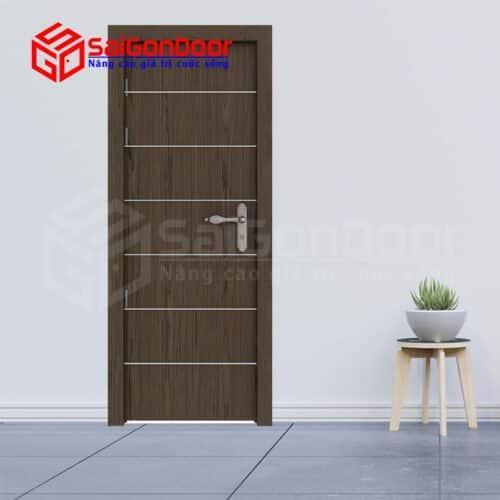 Cửa gỗ MDF Veneer P1R6