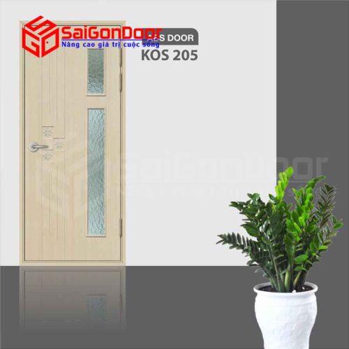 Cửa Nhựa ABS Hàn Quốc KOS.205-MQ808
