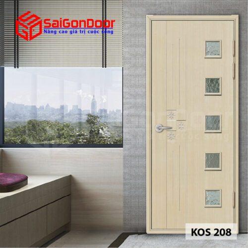 Cửa Nhựa ABS Hàn Quốc KOS.208-MQ808