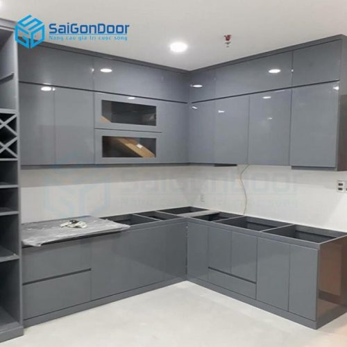 Tủ bếp kệ bếp KP 28