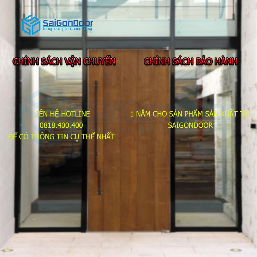 Chính sách vận chuyển và bảo hành tại SaiGonDoor
