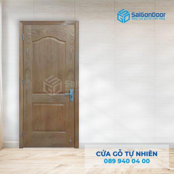 Cửa gỗ tự nhiên cao cấp dùng là cửa phòng tắm