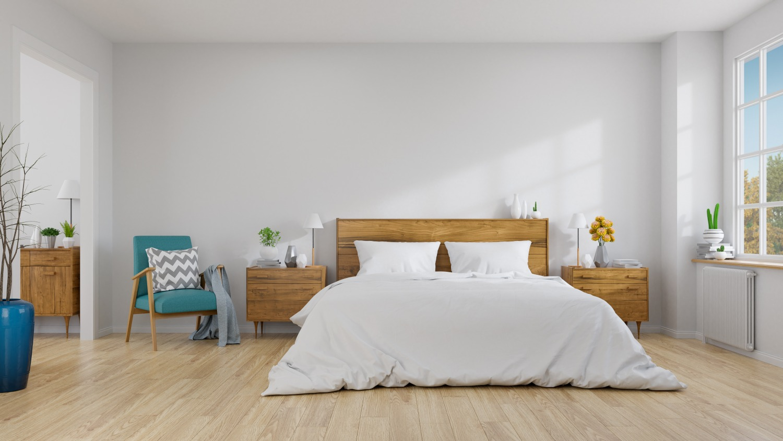 scandinavian interior bedroom concept design