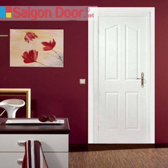 Cửa gỗ HDF cho phòng ngủ hiện đại, sang trọng
